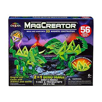 Magcreator 2-in-1 Dinos Mags