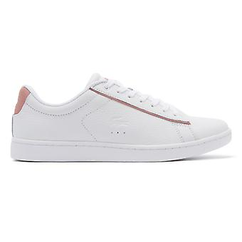 Lacoste Carnaby EVO 319 9 Womens White / Pink Trainers