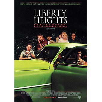 Liberty Heights (kaksipuolinen) alkuperäinen elokuva juliste