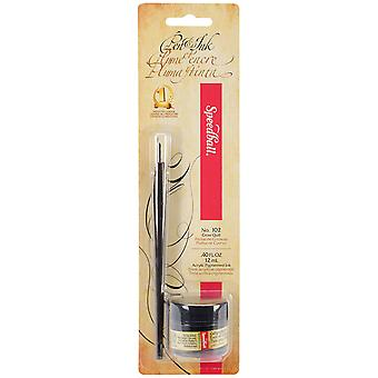 Speedball Calligraphy Pen & Tinte Set schwarz Sb94155