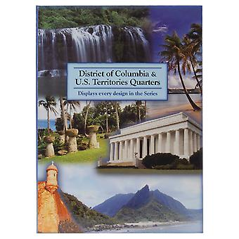 U.S. Territory & D.C. Quarter Color Folder 2009 Lcf41