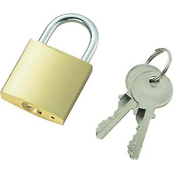 Padlock 32 mm 110500 Brass