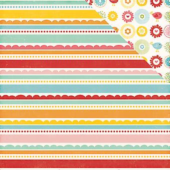 Happy Summer Double-Sided Cardstock 12