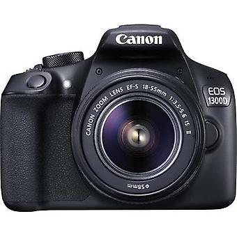 DSLR camera Canon EOS 1300D Kit incl. EF-S 18-55 mm IS II 18 MPi