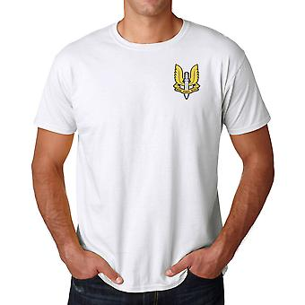 Special Air Service SAS Embroidered Logo - Official Cotton T Shirt