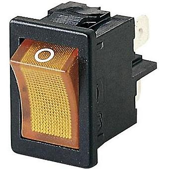 Toggle switch 250 Vac 4 A 2 x Off/On Marquardt 01855.1104-00 IP40 latch 1 pc(s)