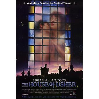 La maison d'Usher Movie Poster Print (27 x 40)