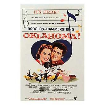Oklahoma Movie Poster (11 x 17)