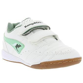 KangaROOS Power Court Schuhe Kinder Sneaker Weiß 1420A 084 100