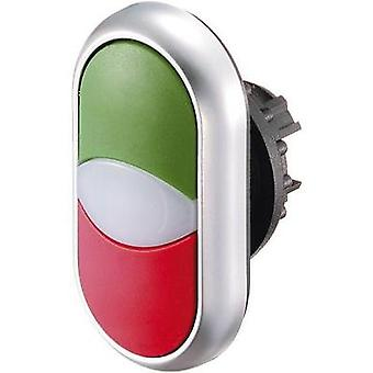 Double head pushbutton Green, Red