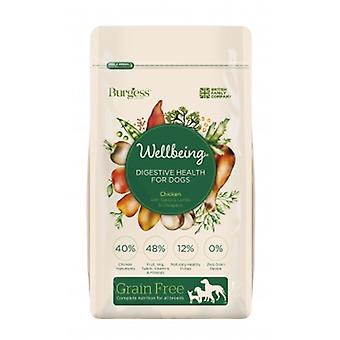 Burgess Wellbeing Grain Free Digestive Health Chicken 1.5kg