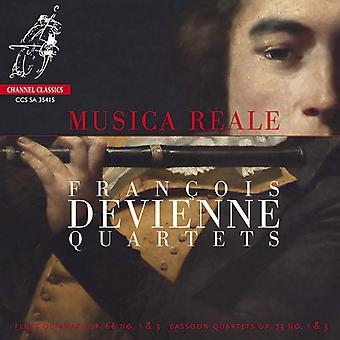 Devienne, F. / Musica Reale - fløjte kvartetter Op.66 Nos.1 & 3 - Fagot kvartetter [SACD] USA import