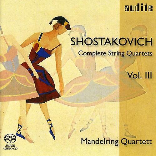 D. Shostakovich - Shostakovich: Complete String Quartets, Vol. 3 [SACD] USA import