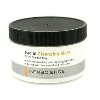 Menscience Facial Cleaning Mask - Green Tea And Clay - 90g/3oz