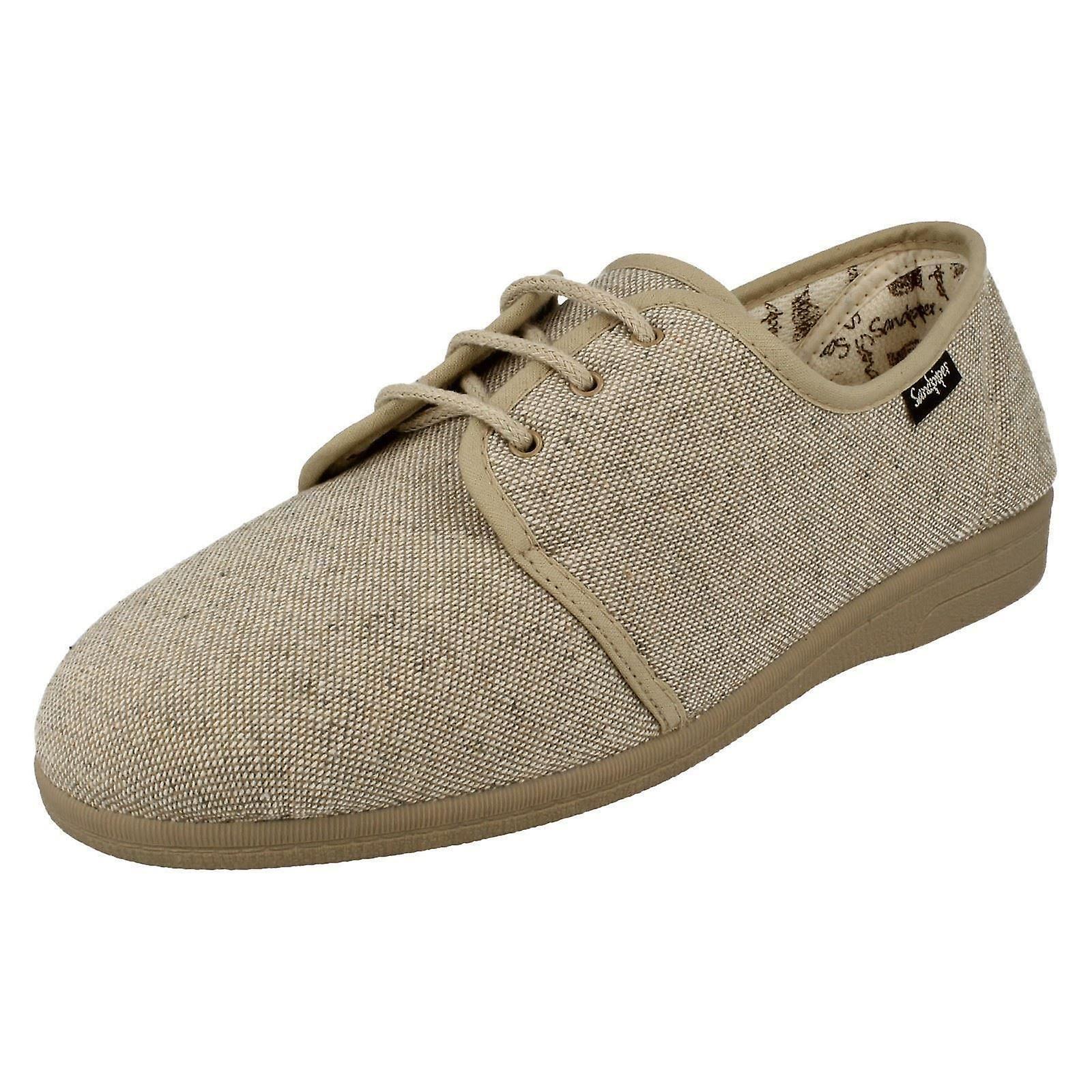 Sandpiper Mens Lace Up Casual scarpe Kevin | Alta sicurezza  | Maschio/Ragazze Scarpa