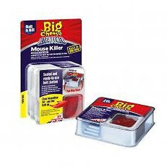 The Big Cheese Ultra Power Mouse Killer Station Twin Pack (Pack of 6)