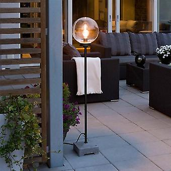 Konstsmide 455-750 Lucca Outdoor Light with Clear Globe Shade