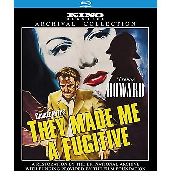 They Made Me a Fugitive [BLU-RAY] USA import
