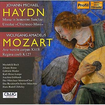 Haydn/Mozart - Johann Michael Haydn: Missa in Honorem Sanctae Ursulae; Mozart: Ave Verum Corpus; Regina Coeli [CD] USA import