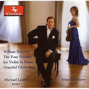 W. Bolcom - Bolcom: The Four Sonatas for Violin & Piano; Graceful Ghost Rag [CD] USA import
