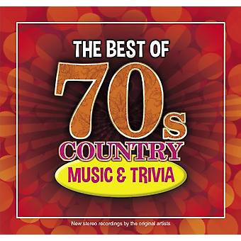 Bo 70s Country musik & Trivia - bo 70s Country musik & Trivia [CD] USA importerer