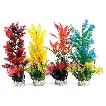 Sydeco färgade växter Aquaplant färg jätte 46cm (4-Pack)