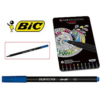 Bic Caja Metal 10Rotulador Mandala Color (Toys , School Zone , Drawing And Color)