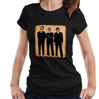 Der Stau rund um die Welt Hülse Sitzung Damen T-Shirt