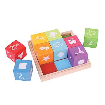Bigjigs Toys First Picture Blocks