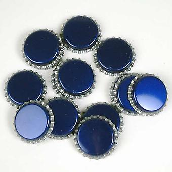 Crown caps - blue - pack of 40