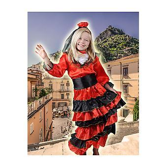 Børns kostumer piger spansk pige Senorita