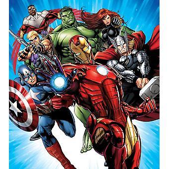 De Avengers decoratie muurschildering 180x202cm