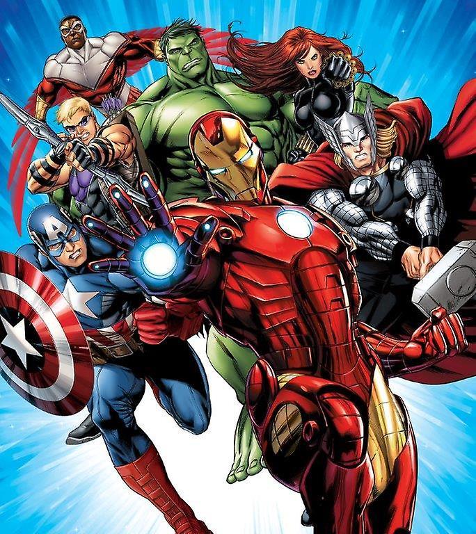 The Avengers Decorazione Murales 180x202cm