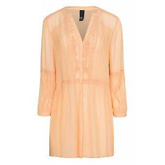 B.C.. best connections by heine shirt ladies Orange embroidery blouse