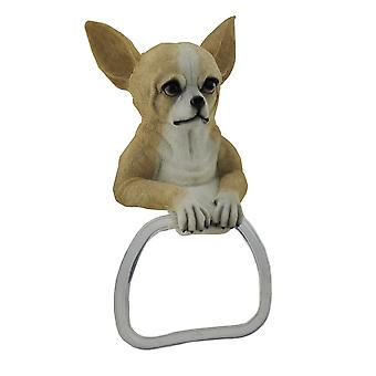 Chihuahua Dog Hanging Towel Holder