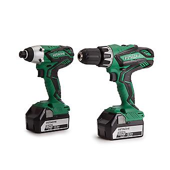 Hitachi KC18DGL/JE 18v Cordless Twin Pack 2 x 5.0ah batterie