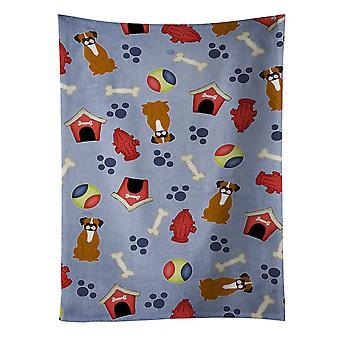 Perro casa colección llamativo Boxer leonado toalla de cocina