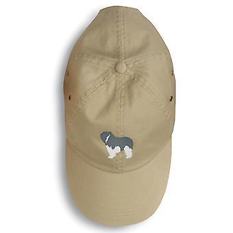 Polski Owczarek nizinny pies Wyszywana czapka z daszkiem