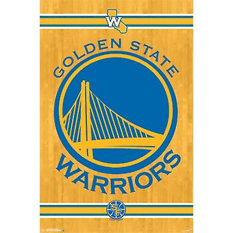 Golden State Warriors - Logo 2014 Poster Poster Print