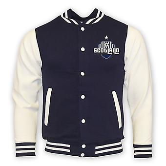 Scotland College Baseball jakke (marinen)
