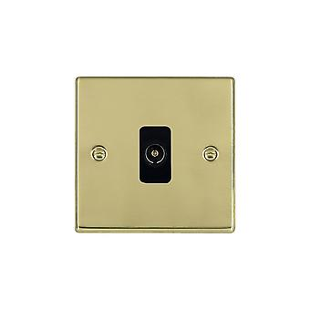 Hamilton Litestat Hartland Polished Brass 1g Non-Isolated TV 1in/1out BL