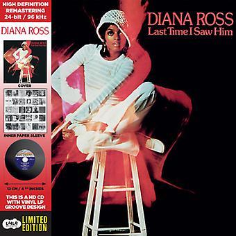 Ross*Diana - Last Time I Saw Him - Deluxe CD-Vinyl Replica [CD] USA import