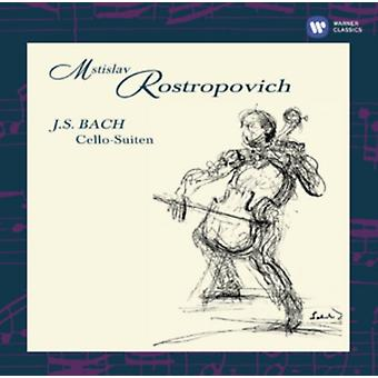 Bach: The Cello Suites by Mstislav Rostropovic