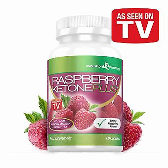 Raspberry Ketone Plus - 1 Month Supply - Fat Burner - Evolution Slimming
