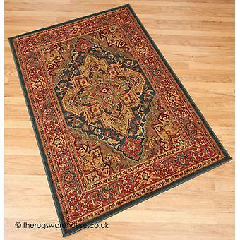 Ishtar blauw tapijt