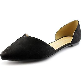 Chinese Laundry Womens Eternal Love Pointed Toe Slide Flats