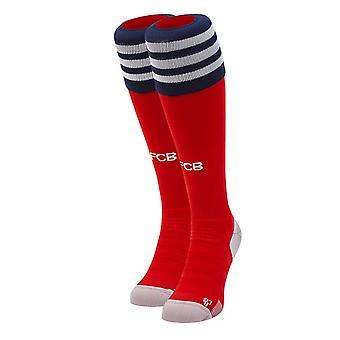 2018-2019 Bayern Munich Adidas Home calcetines de Futbol (rojo)