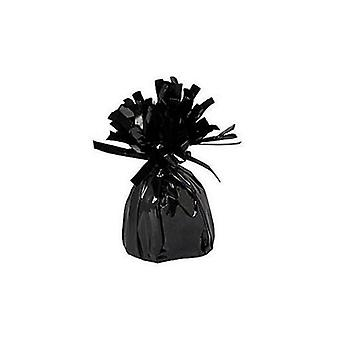 Balloon Weight Foil Wrapped Black
