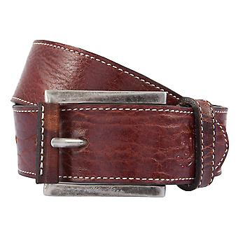 OTTO KERN belts men's belts leather belt Br.Schoko 1421