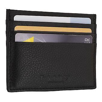 Porta carte di credito di uomo Timberland, portabiglietti da visita, carta caso nero 7104